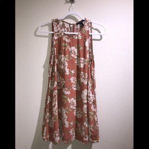 Floral Short Flow Dress